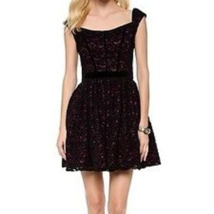 Black Halo Eve Dress NWOT